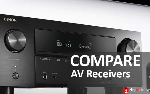 Compare AV Receivers