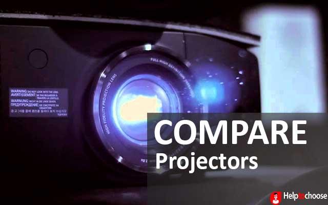 Compare projectors