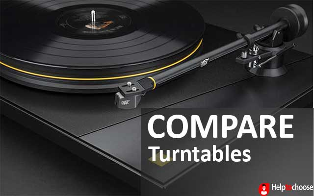 Compare turntables