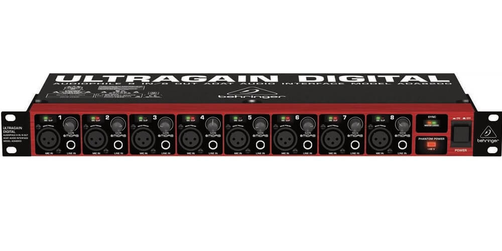 BEHRINGER ULTRAGAIN DIGITAL ADA8200