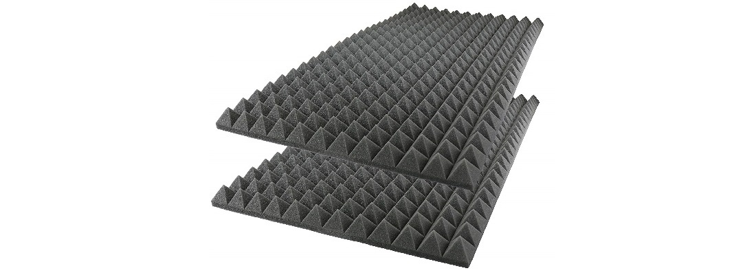Foamily Acoustic Foam Sound Absorption Pyramid