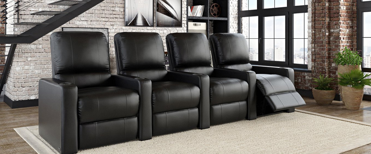 comfortable home theater seating