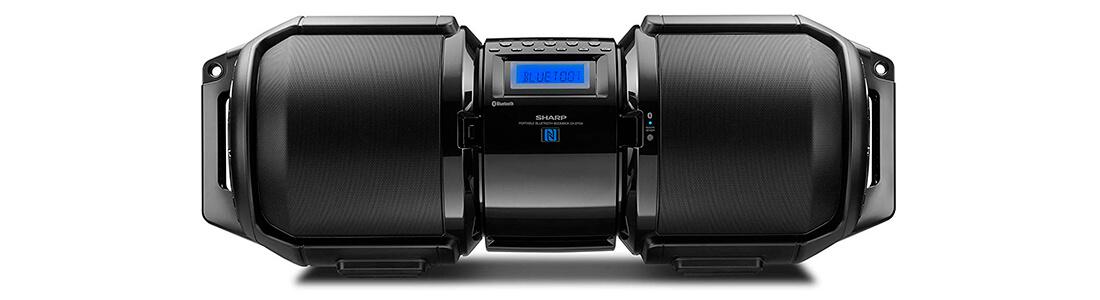Sharp GX-BT9X Large Portable Bluetooth BoomBox