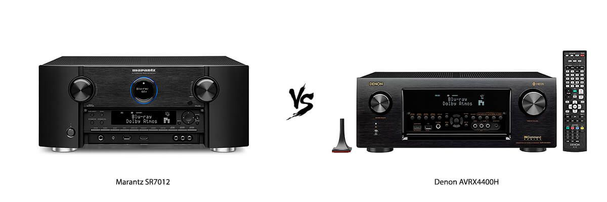 Marantz SR7012 vs Denon AVRX4400H Review [2019] - HelpToChoose