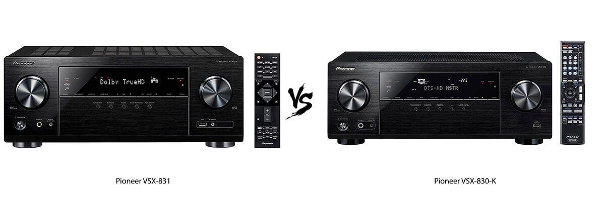 Pioneer VSX-831 vs VSX-830-K Review [2019] - HelpToChoose