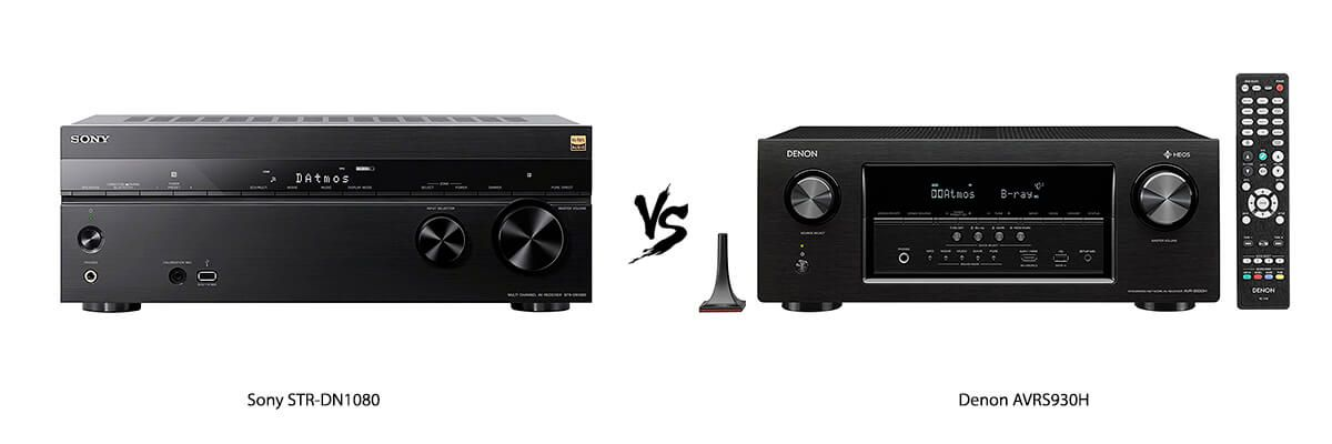 Sony STR-DN1080 vs Denon AVRS930H