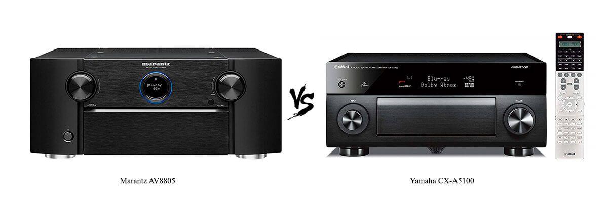 Marantz AV8805 vs Yamaha CX-A5100
