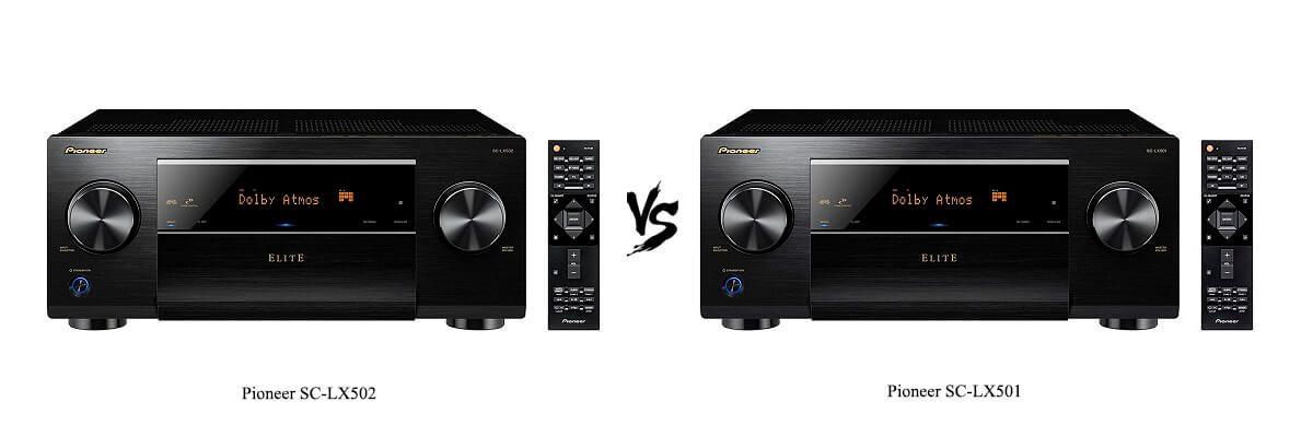 Pioneer SC-LX502 vs Pioneer SC-LX501