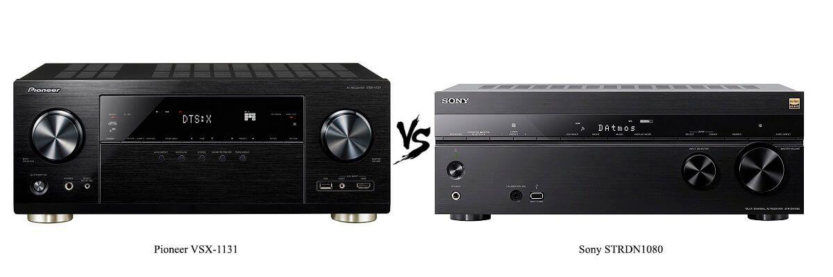 Pioneer VSX-1131 vs Sony STRDN1080