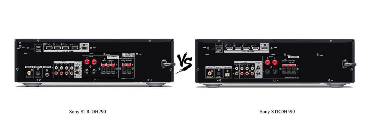 Sony STR-DH590 vs STR-DH790