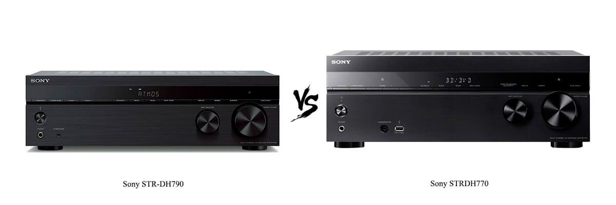 Sony STR-DH790 vs Sony STRDH770