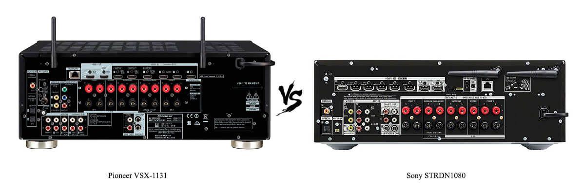Sony STRDN1080 vs Pioneer VSX-1131