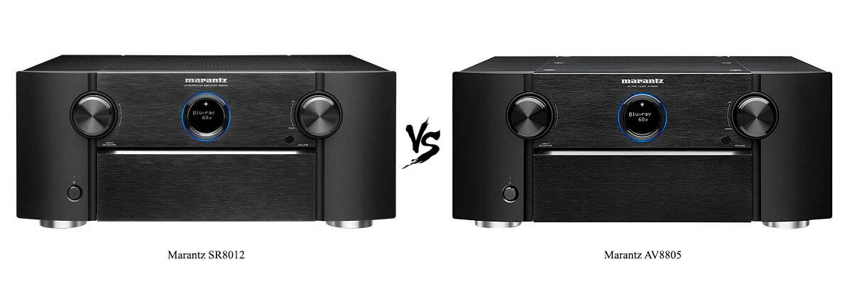 Marantz SR8012 vs AV8805 Review [2019] - HelpToChoose