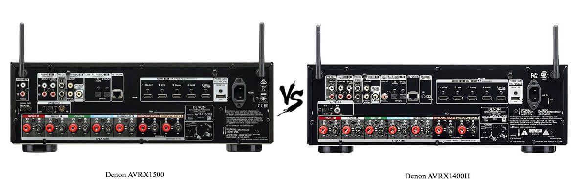 Denon AVRX1400H and AVRX1500