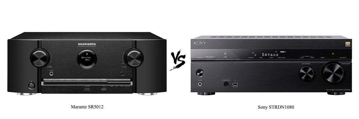 Marantz SR5012 vs Sony STRDN1080