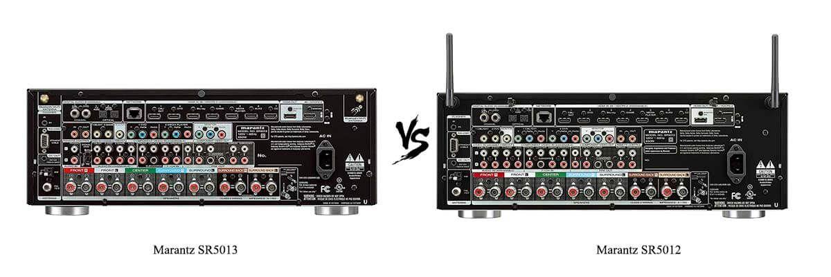 Marantz-SR5013-vs-Marantz-SR5012-back