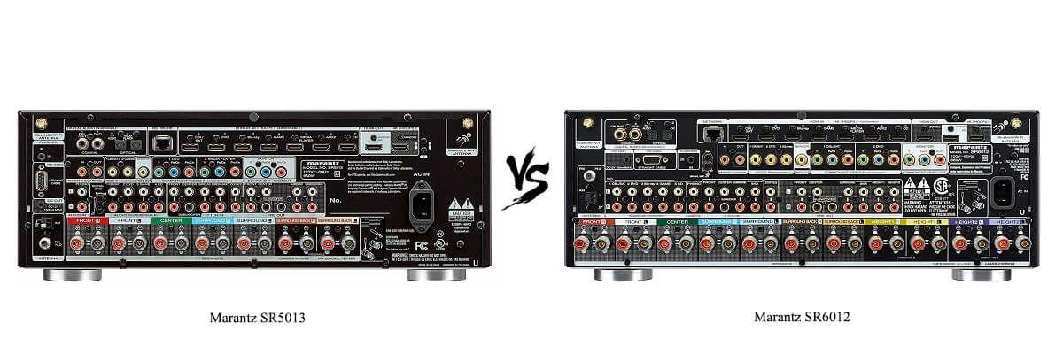 Marantz SR6012 vs SR5013