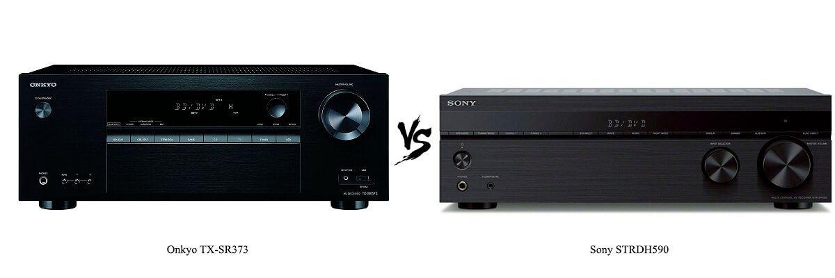 Onkyo TX-SR373 vs Sony STRDH590