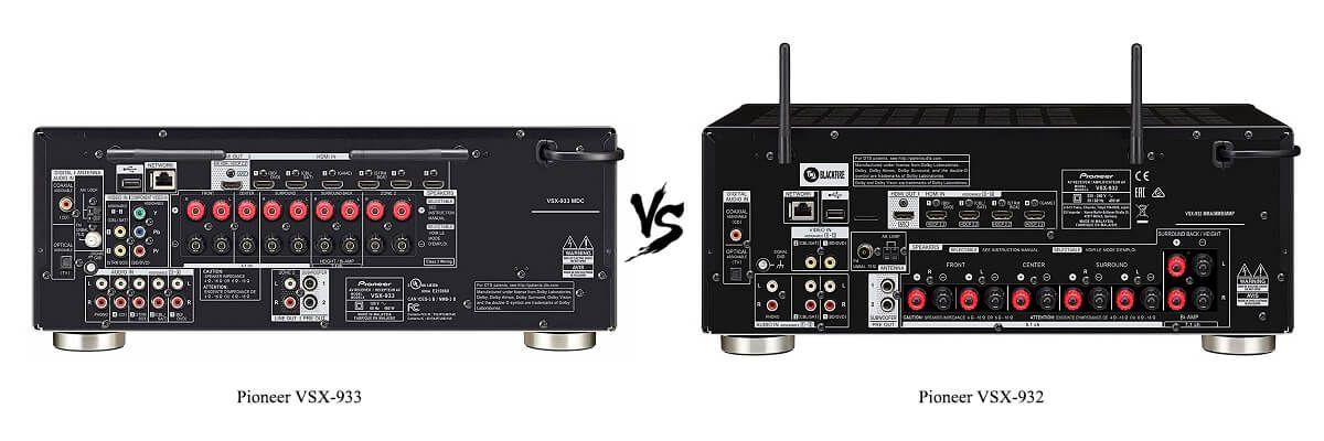 Pioneer VSX-932 vs VSX-933