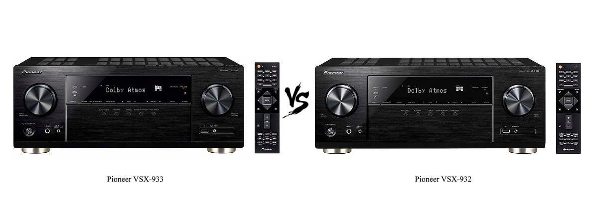 Pioneer VSX-933 vs Pioneer VSX-932