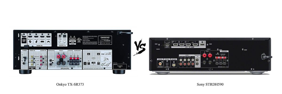 Sony STRDH590 vs Onkyo TX-SR373