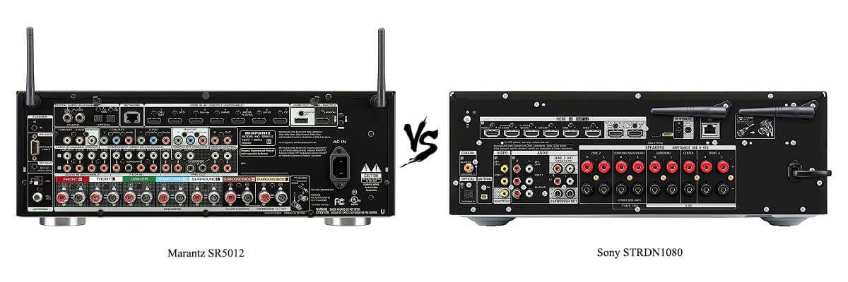 Sony STRDN1080 vs Marantz SR5012