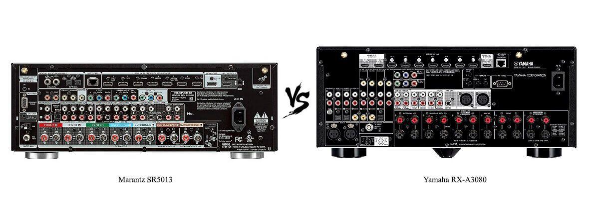 Yamaha RX-A3080 vs Marantz SR5013