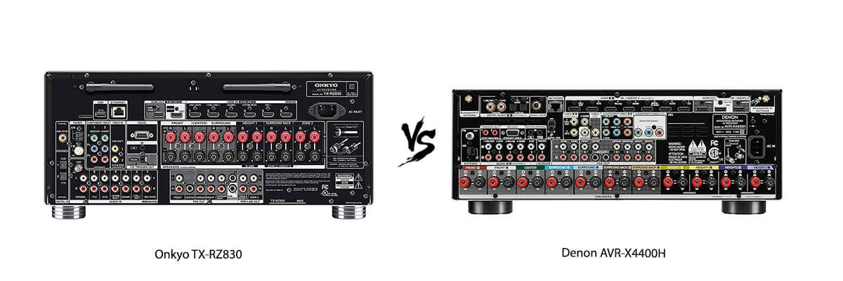 Denon AVR-X4400H vs Onkyo TX-RZ830 Review [2019] - HelpToChoose