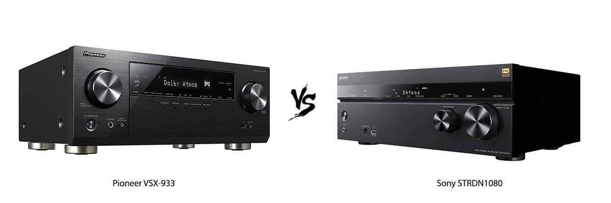 Pioneer VSX-933 vs Sony STRDN1080
