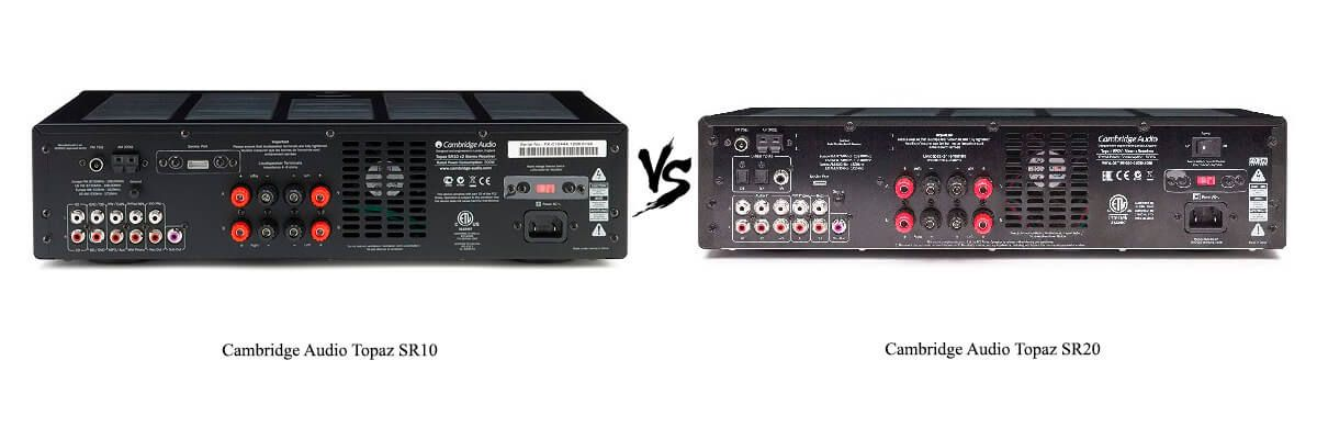 Cambridge Audio Topaz SR20 vs SR10