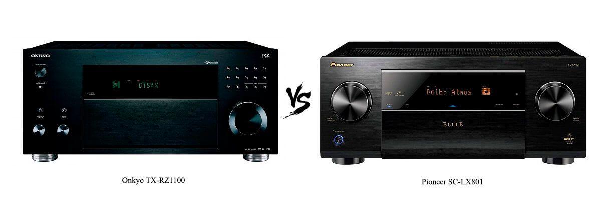 Onkyo TX-RZ1100 vs Pioneer SC-LX801