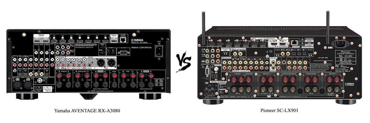 Pioneer SC-LX901 vs Yamaha AVENTAGE RX-A3080