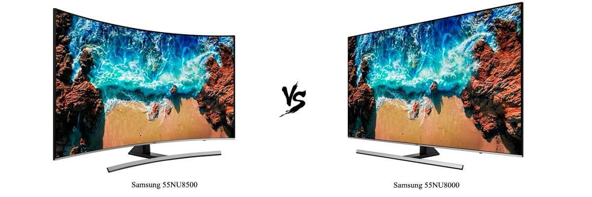 Samsung 55NU8500 vs Samsung 55NU8000