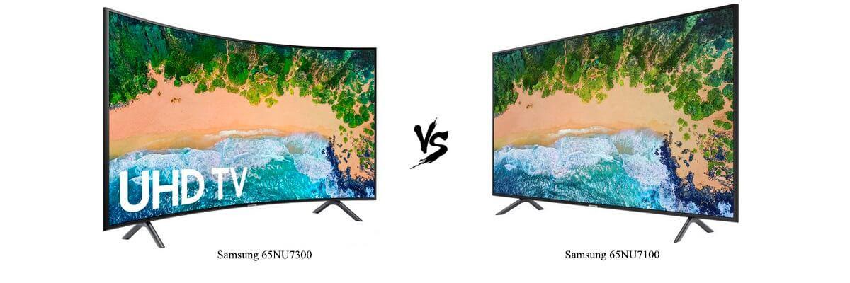 Samsung 65NU7300 vs Samsung 65NU7100