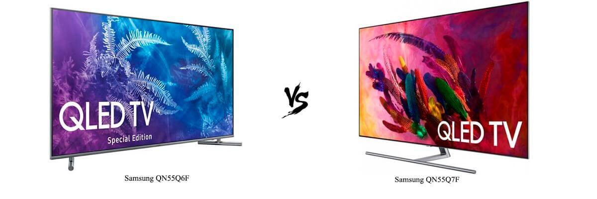 Samsung QN55Q6F vs Samsung QN55Q7F