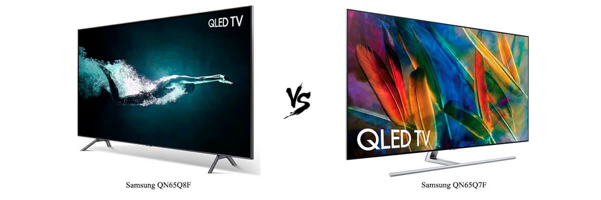 Samsung QN65Q8F vs Samsung QN65Q7F