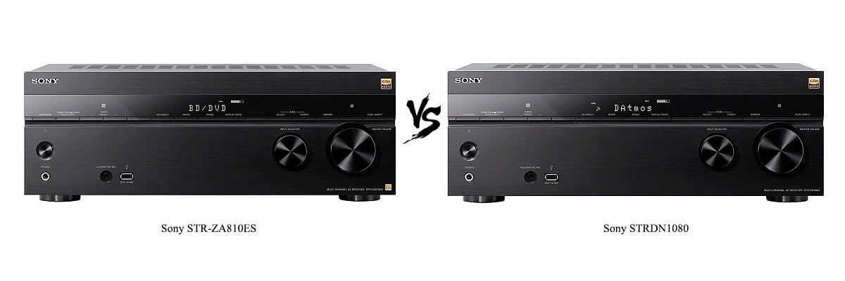 Sony STR-ZA810ES vs Sony STRDN1080