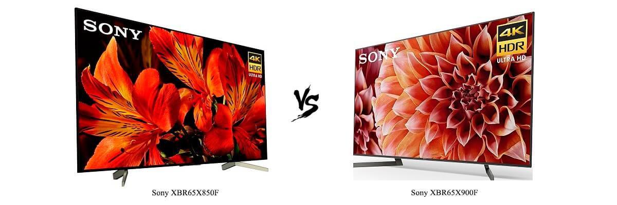 Sony XBR65X850F vs Sony XBR65X900F