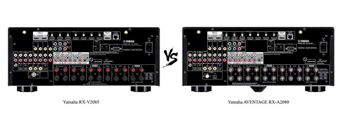 Yamaha AVENTAGE RX-A2080 vs Yamaha RX-V2085