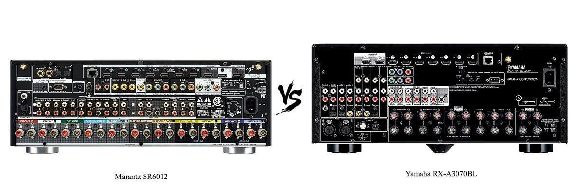 Yamaha RX-A3070BL vs Marantz SR6012