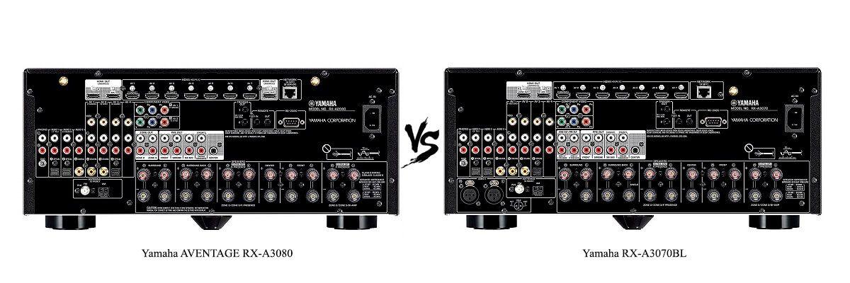 Yamaha RX-A3070BL vs Yamaha AVENTAGE RX-A3080