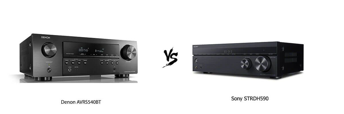 Denon AVRS540BT vs Sony STRDH590