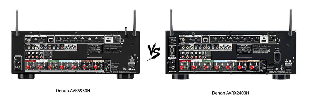 Denon AVR-X2400H vs AVR-S930H Review [2019] - HelpToChoose