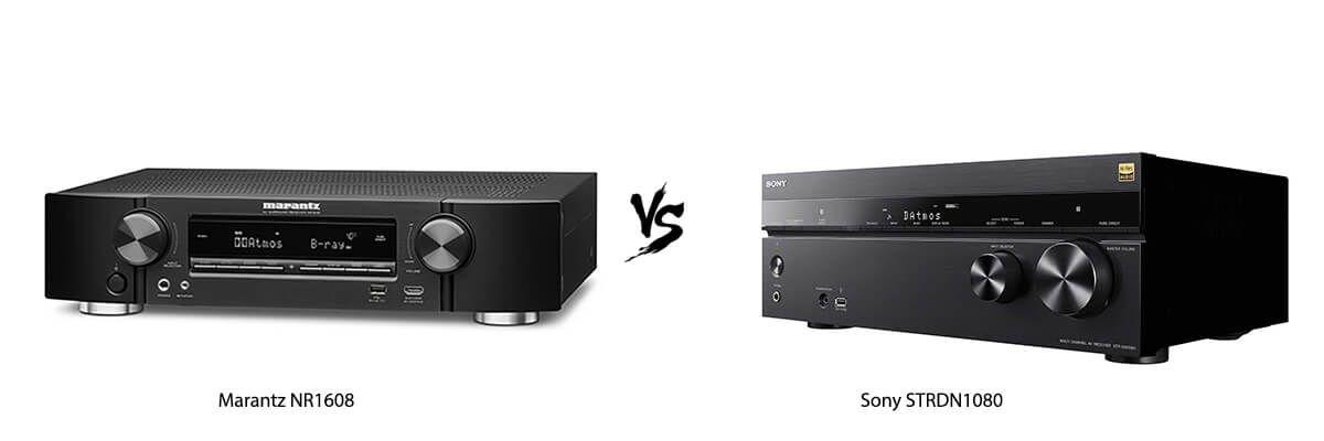 Marantz NR1608 vs Sony STRDN1080