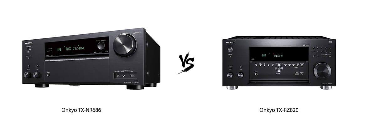 Onkyo TX-RZ820 vs TX-NR686 Review [2019] - HelpToChoose