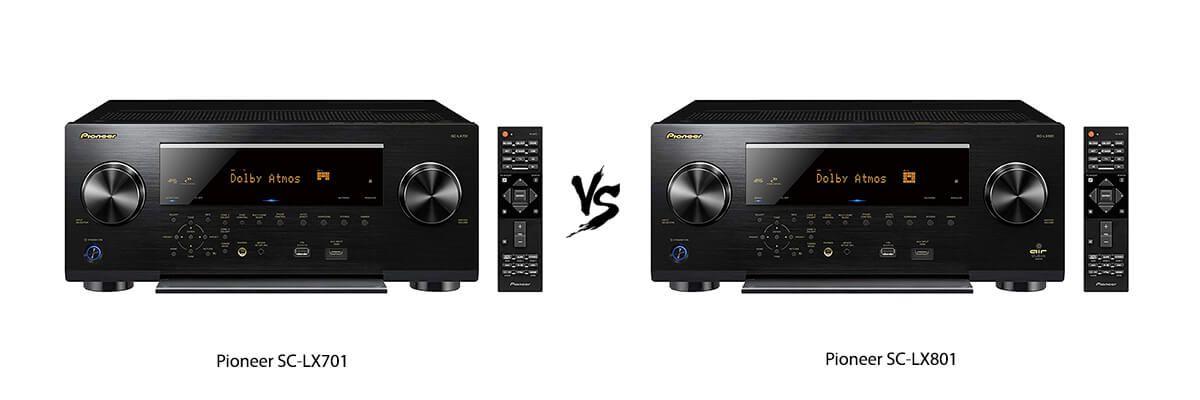 Pioneer SC-LX701 vs Pioneer SC-LX801