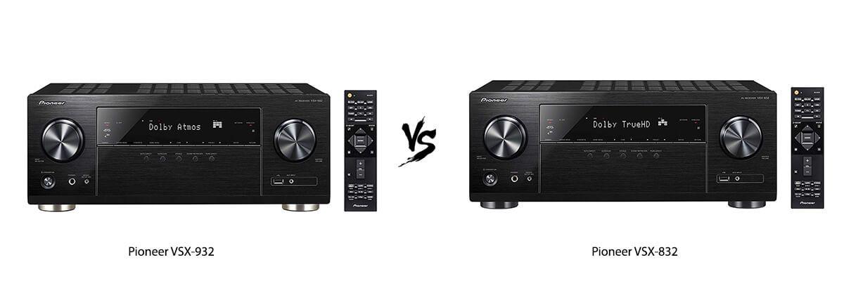 Pioneer VSX-932 vs Pioneer VSX-832