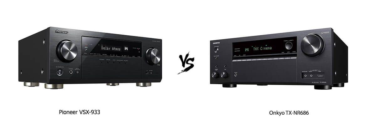 Pioneer VSX-933 vs Onkyo TX-NR686