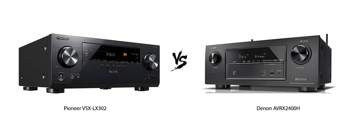 Pioneer VSX-LX302 vs Denon AVRX2400H