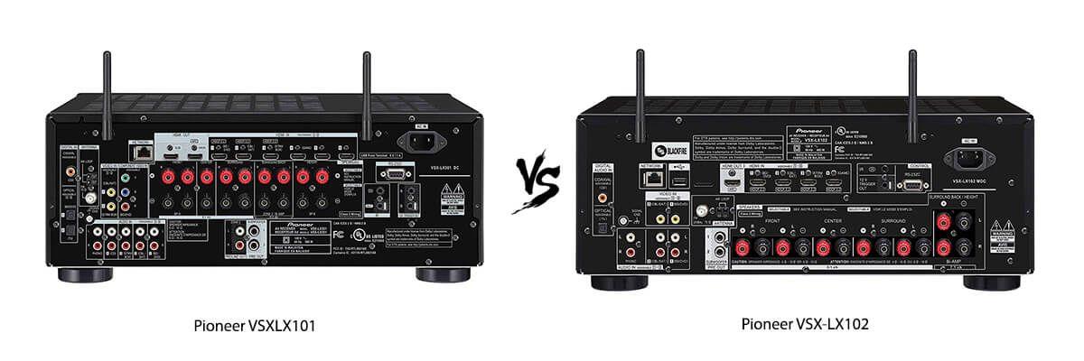 Pioneer VSXLX101 vs Pioneer VSX-LX102 back